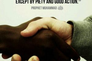 Our Points For Black and White American Muslim's Dialogue